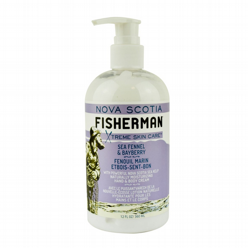 Nova Scotia Fisherman - Bayberry & Fennel Moisturising Hand & Body Cream 360ml